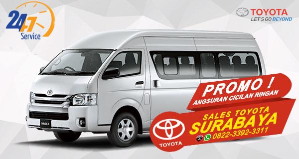 Promo Angsuran Cicilan Ringan Toyota Hiace Surabaya