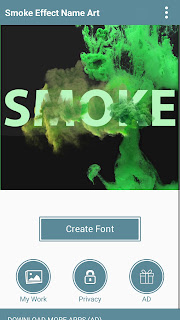 Free Download Smoke Effect Name Art Apk Terbaru 2018