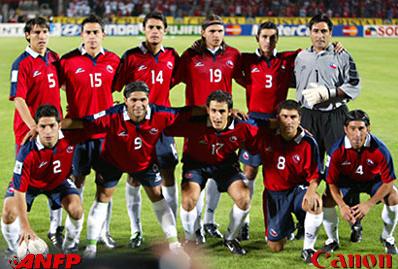 Formación de Chile ante Paraguay, Clasificatorias Alemania 2006, 18 de noviembre de 2003