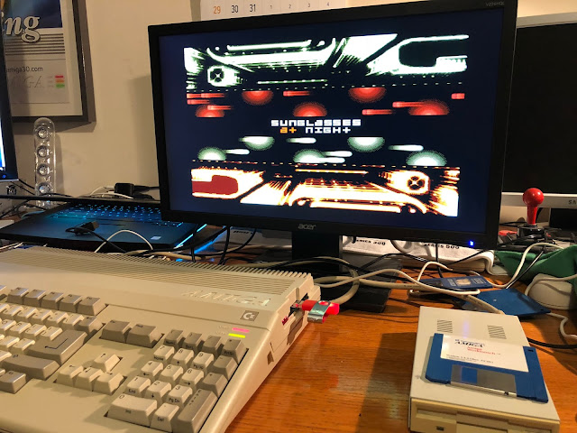 assembled V2.9 external connection Amiga Floppy Drive Adapter for internal
