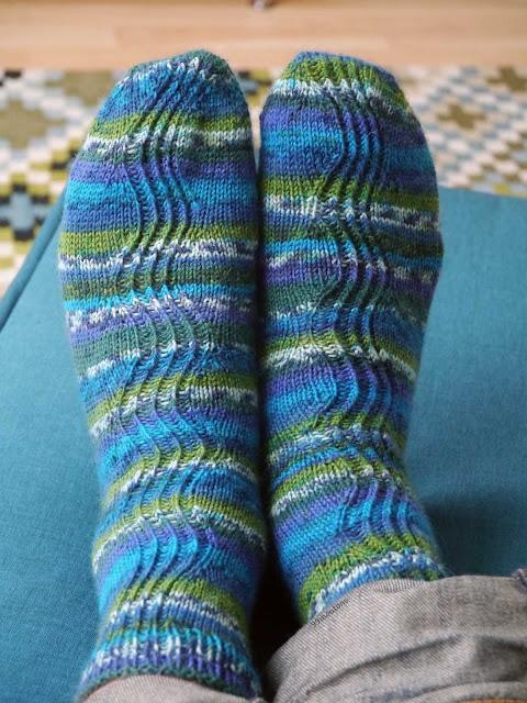 chaussettes en tricot modèle kalajoki
