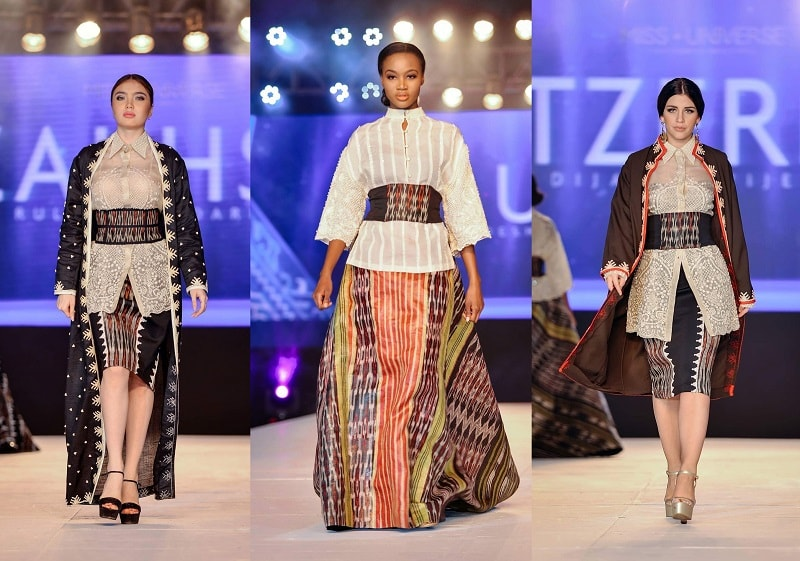 Miss Universe Candidates Wears Mindanao Tapestry