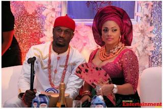 Peter Okoye And Wife, Lola Celebrate 5th Wedding Anniversary