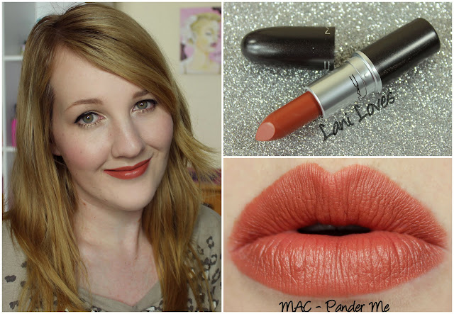 MAC Pander Me lipstick swatch