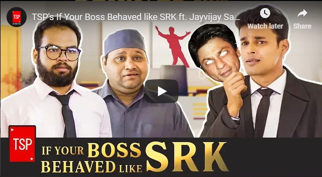 The Screen Patti If Your Boss Behaved like शाहरुख़ खान ft. Jayvijay Sachan