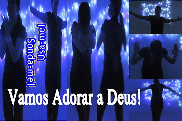 Blog Roxachic - Coreografia/Dança Sonda me, Usa me – Aline Barros