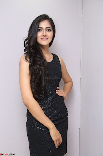 Simran Chowdary Model in Beautiful Black Dress at FBB Miss India 2017 finalists at Telangana auditions (7).JPG