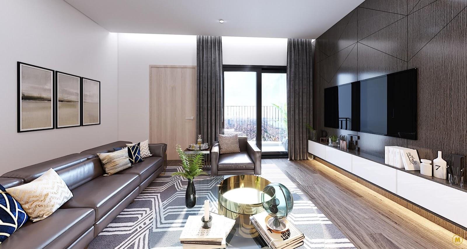 Hình ảnh căn hộ chung cư Amber Riverside Minh Khai