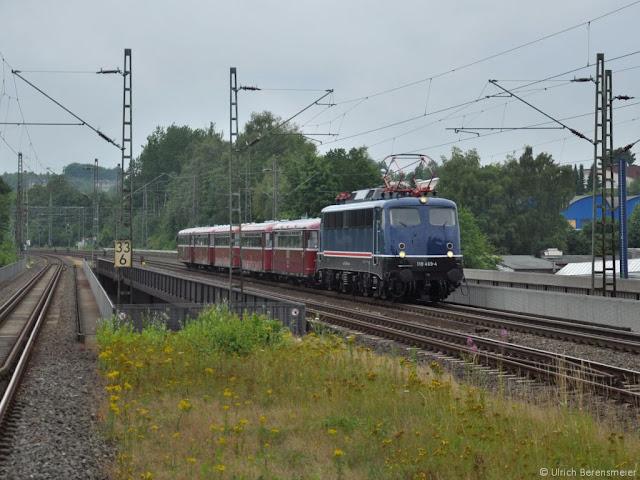 Schienenbus der Vulkan-Eifel-Bahn mit NX-110 469, Foto Uli Berensmeier