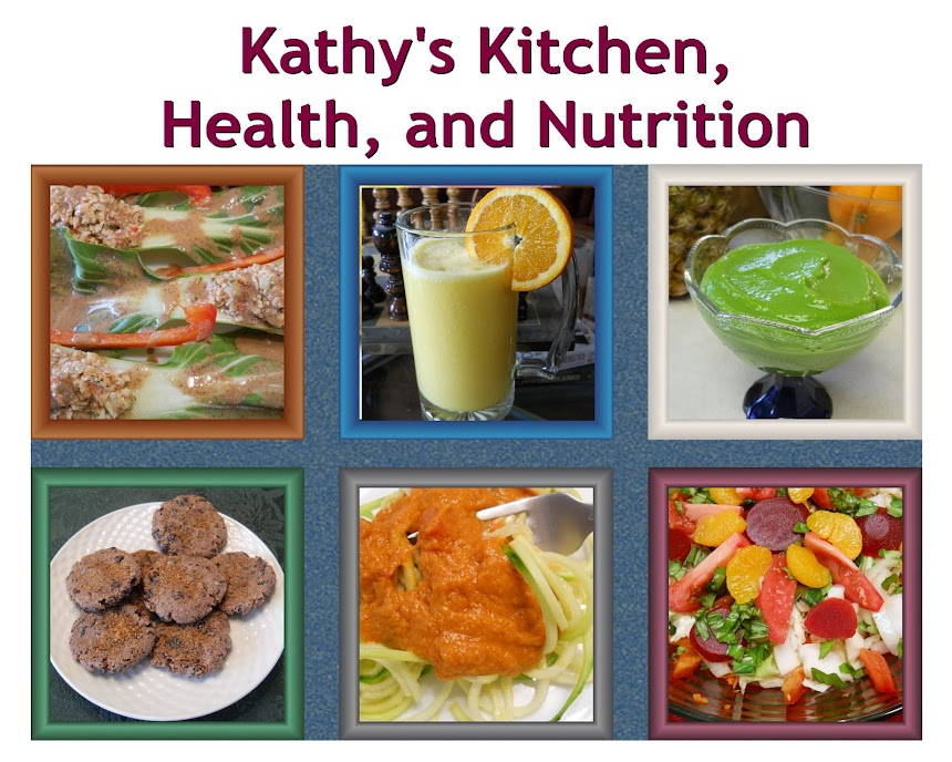 Kathy's Kitchen, Health, and Nutrition