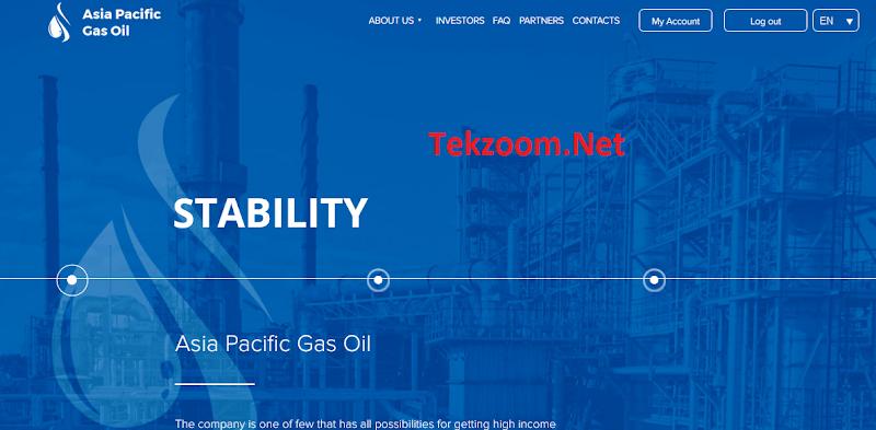 [SCAM] Review Asia Pacific Gas Oil - Lãi up 4% hằng ngày - Đầu tư tối thiểu 10$ - Thanh toán tức thì