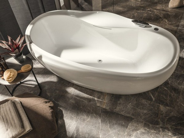 Bathroom Design Zaha Hadid Freestanding Bathtub Oval Luxury Modern Bathroom Design