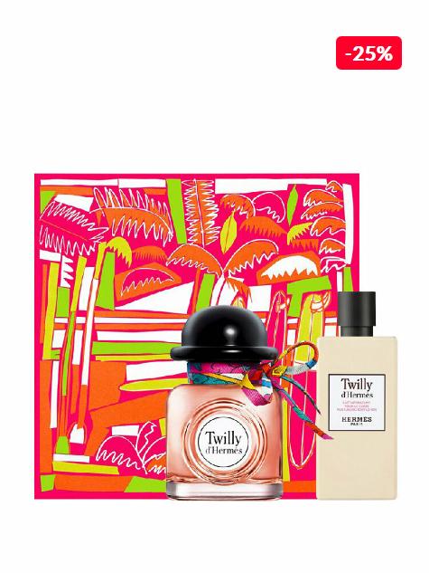 Set cadou Hermes Twilly D'Hermes (Apa de parfum 85 ml + Lotiune de corp 80 ml), pentru femei