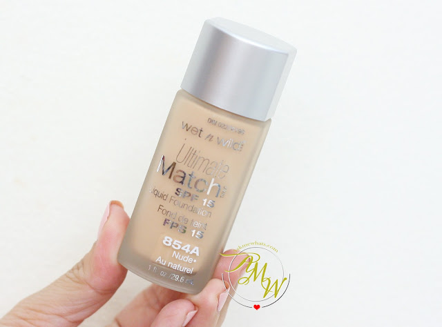 a photo of Wet N Wild Ultimate Match Foundation in Nude