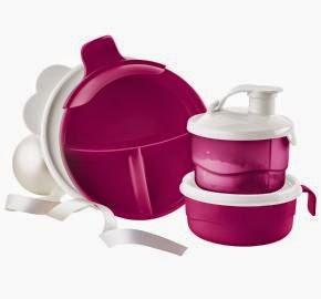Hi Ho Hi Ho With Tupperware We Go New Baby Stages Feeding Set