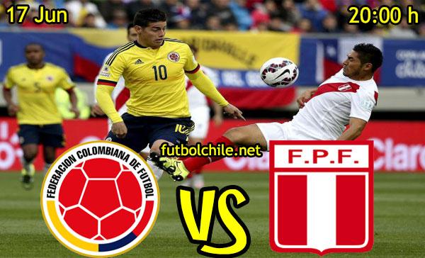 VER STREAM RESULTADO EN VIVO, ONLINE:  Perú vs Colombia