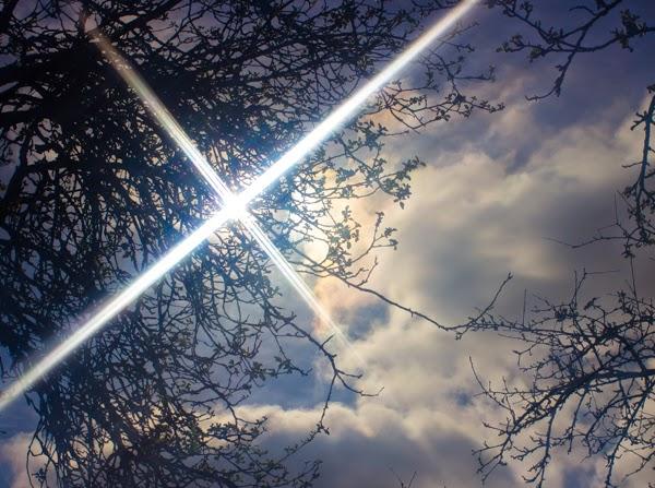 PauMau 40+ nelkytplus blogi taivas aurinko energia pilvet kesä vanha omenapuu sun energy sky clouds apple tree filter valokuvaus photography