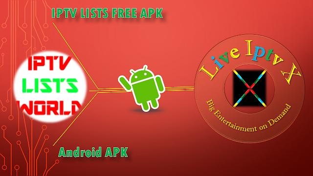 IPTV LISTS FREE APK