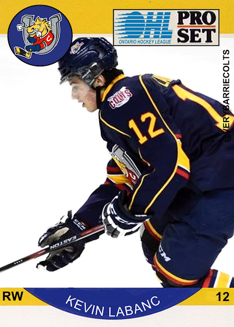 Image result for a very barrie colts blog kevin labanc