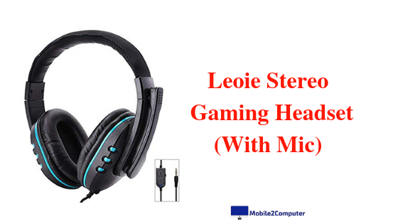 Leoie Stereo Gaming Headset under Rs. 1000