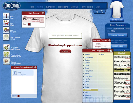Cómo diseñar e imprimir tu propia camiseta personalizadas online