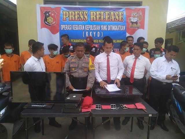 Jelang Asean Games, Polres Bone Galakkan KKYD Kejahatan Jalanan. Ini Kasus yang Berhasil Diungkap