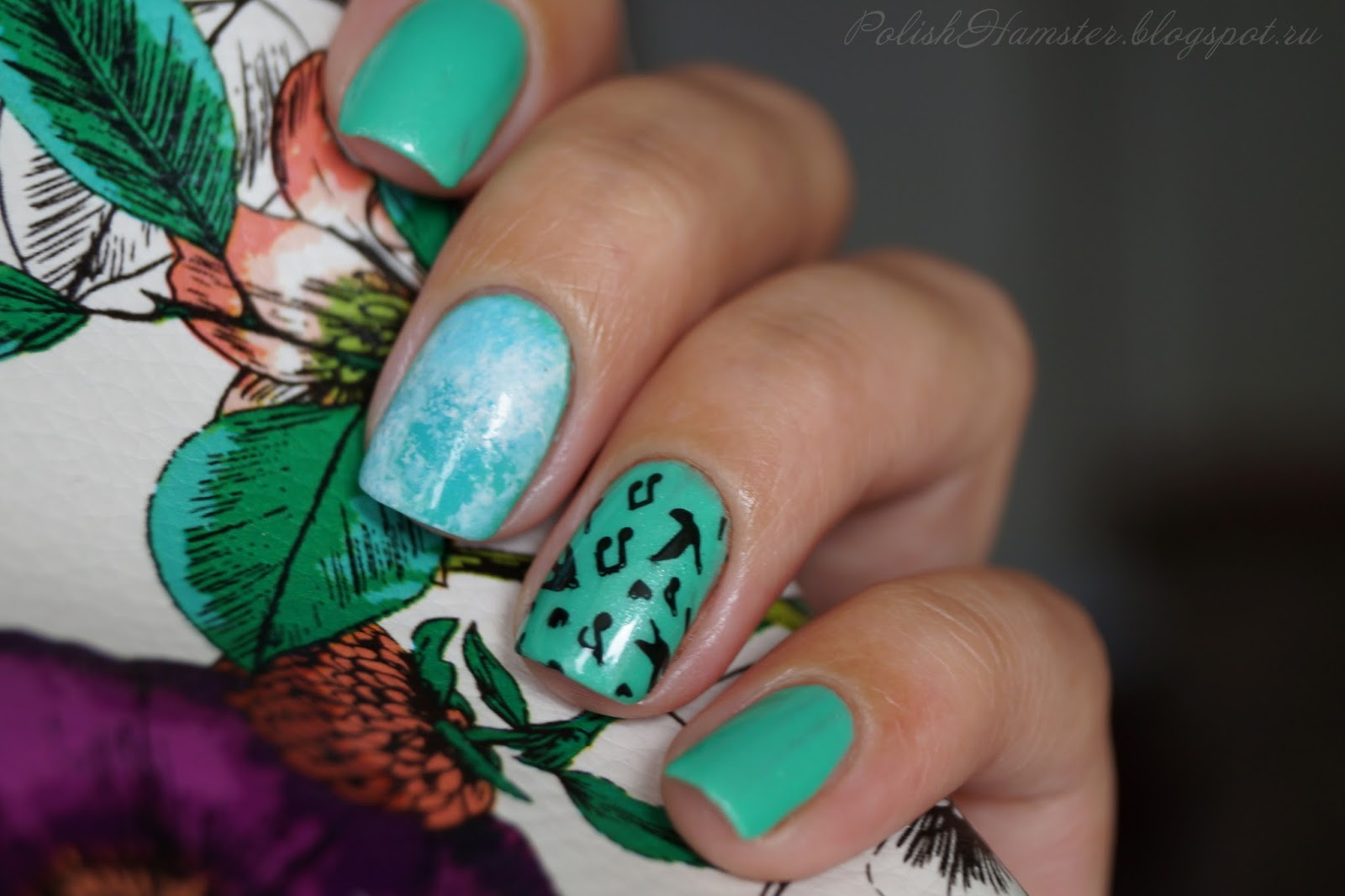 piCture pOlish Jade + MoYou London Mother Nature collection 13