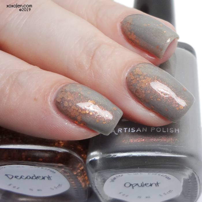 xoxoJen's swatch of 1850 Opulent with Decadent