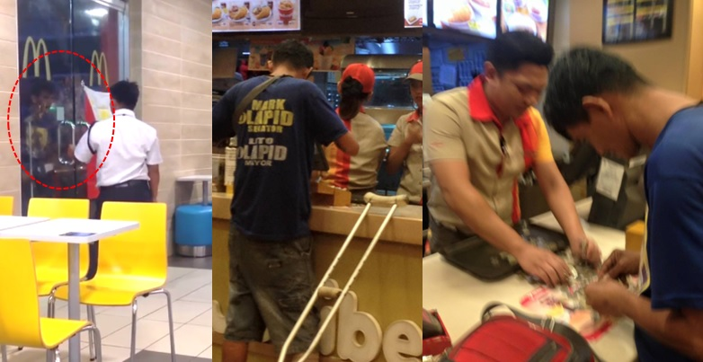 PWD who was reportedly refused entry at McDonald's goes to Jollibee