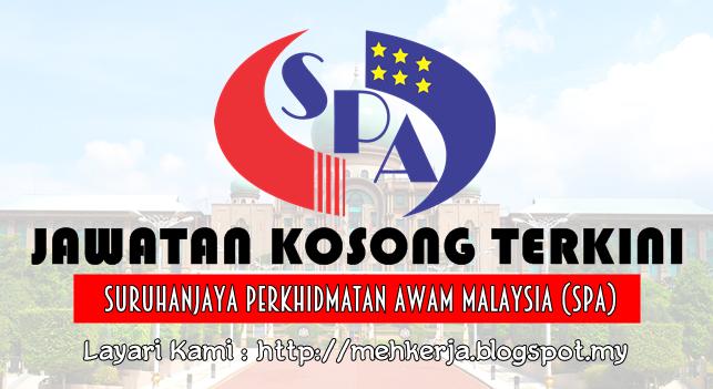 Jawatan Kosong Terkini 2016 di Suruhanjaya Perkhidmatan Awam Malaysia (SPA)