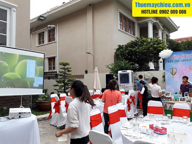 VNPC cho thuê máy chiếu Panasonic độ sáng cao 4500 Ansi