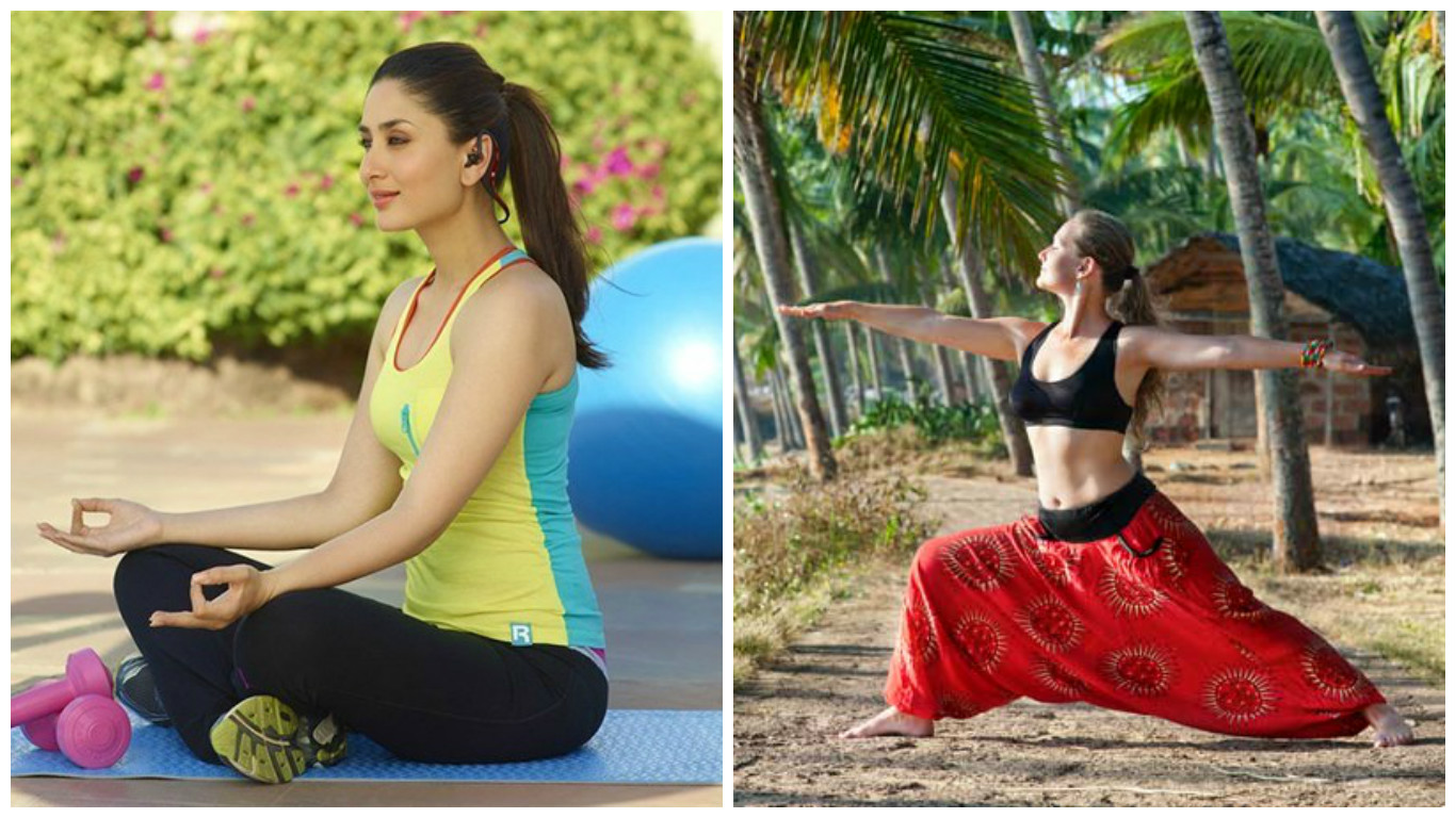 These 7 Bollywood actresses inspire us to embrace YOGA! 2