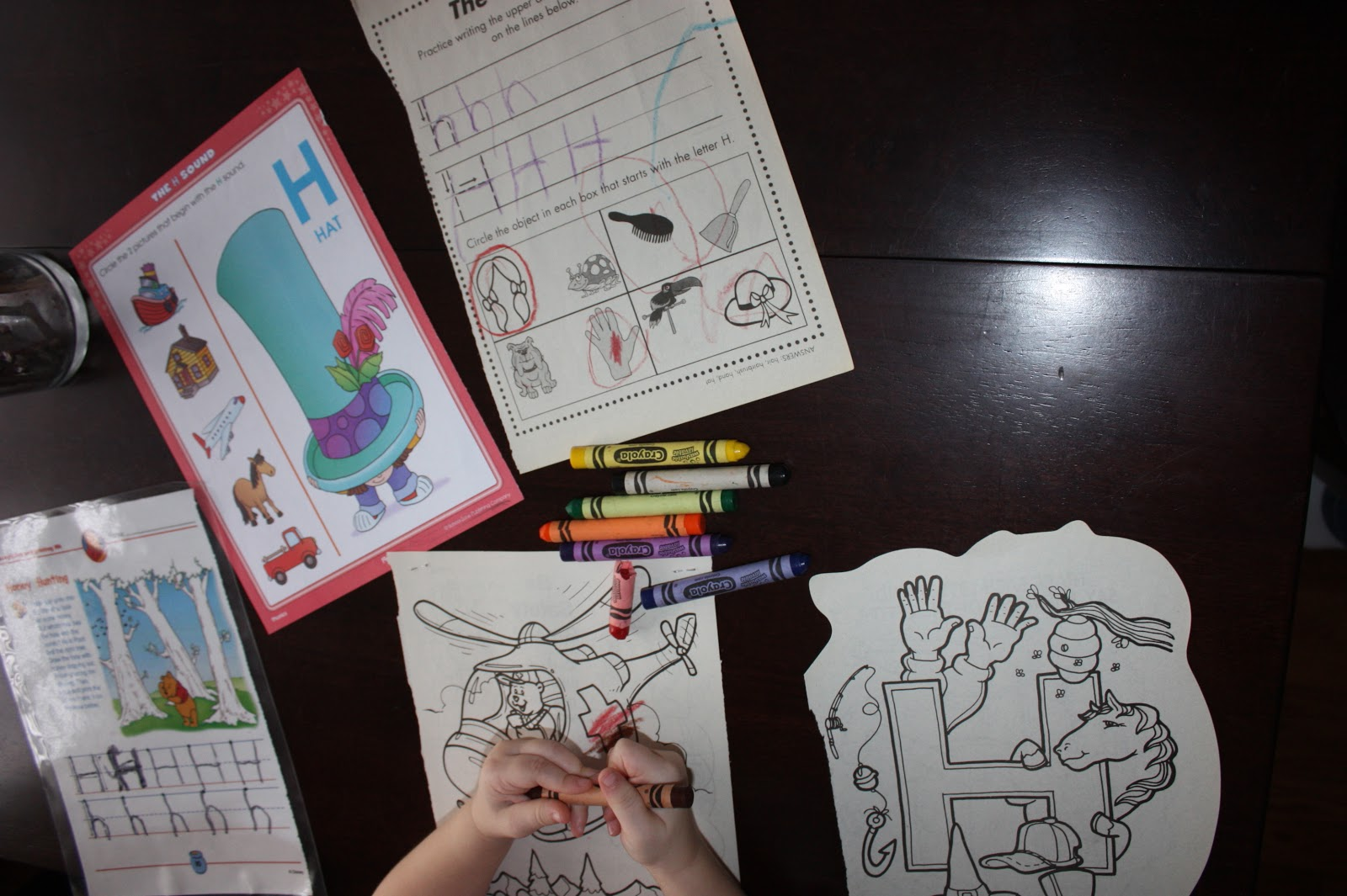 Letter Of The Week Letter H Teaching Training Amp Tantrums