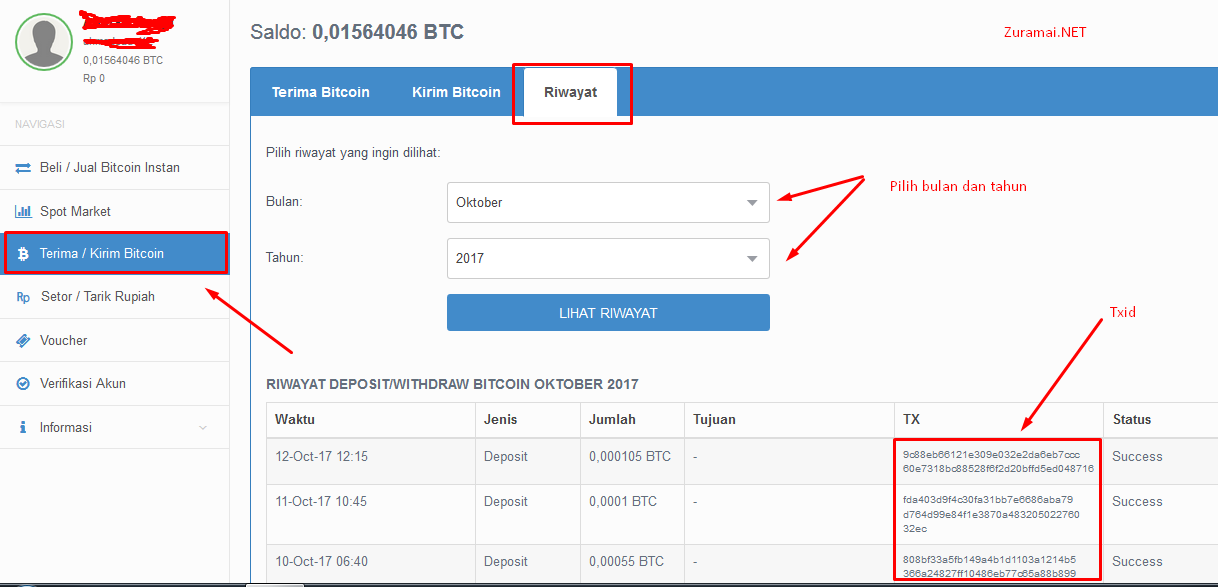 Cara transfer dari blockchain ke bitcoin / Bitcoin on