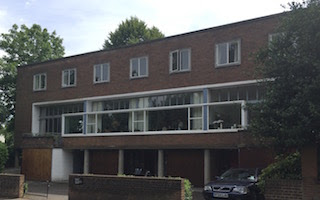 2 Willow Road, Hampstead, London, by  Ernő Goldfinger
