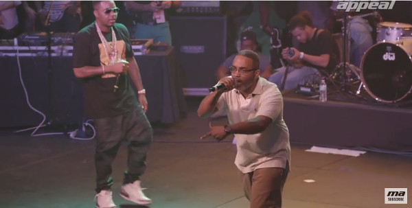 """Nas ft. Large Professor """"Live at the Barbeque"""" (Live at the BBQ SXSW 2016)"""