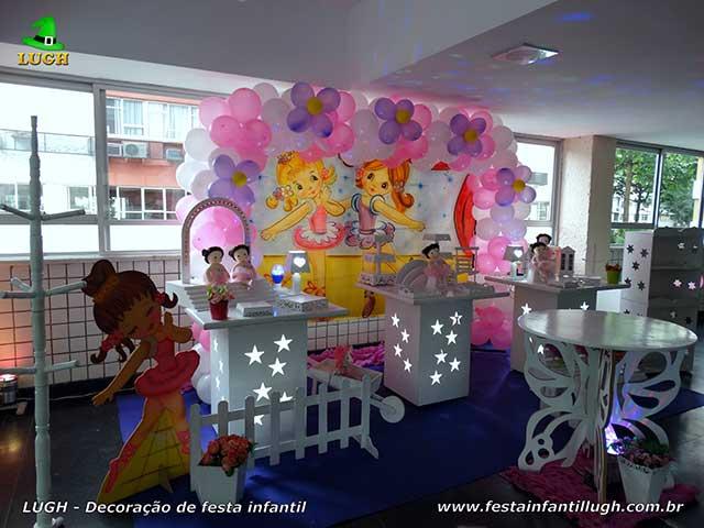 Decoração de aniversário tema Bailarinas - Festa infantil