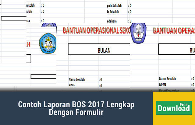 Contoh Laporan BOS 2017