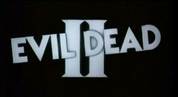 Evil Dead II title screen