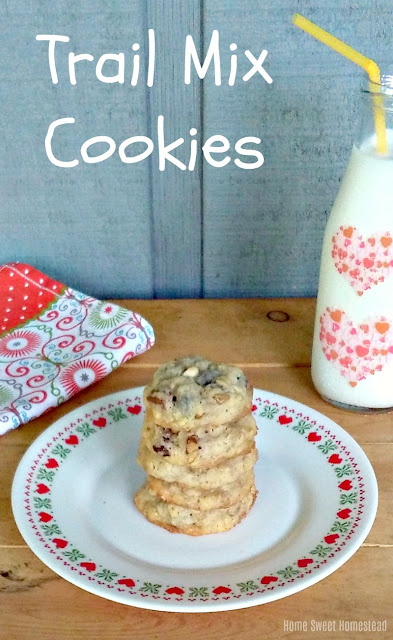 Home Sweet Homestead: Trail Mix Cookies