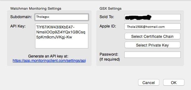 Apple Gsx Server accounts with Fully Configured ADMIN+ROLE+MANAGER+