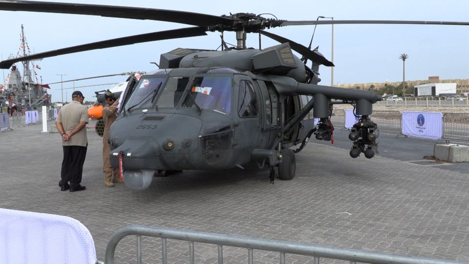 UAE's New Weaponized Black Hawks with ABH Kit