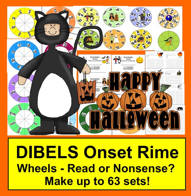 https://www.teacherspayteachers.com/Product/Halloween-Activites-DIBELS-Blending-Build-A-Word-Wheels-Make-up-to-63-sets-363744