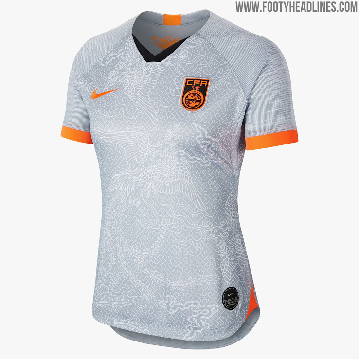 3cfc28e2ddd Spectacular Nike China 2019 Women s World Cup Away Kit Presented ...