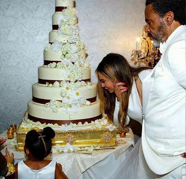 Beyonce Wedding Cake
