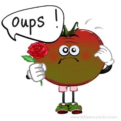 Expressions en français : Être rouge comme une tomate