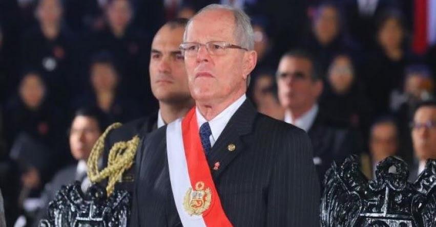 Fujimoristas autorizan viaje de PPK a Nueva York y el Vaticano