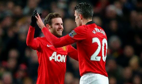 Manchester United Mata Van Persie free online watch football