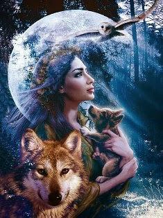 donne, estés, lupi, selvaggia