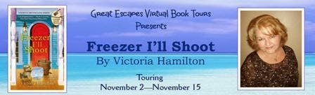 BLOG TOUR Interview: Freezer I'll Shoot, by Victoria Hamilton – with giveaway!